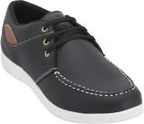 Advin England Black Shoes Casuals (Black...