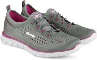 Skechers Glider Running Shoes(Grey, Pink)
