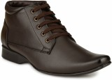 Mactree Cuban Lace Up Shoes (Brown)