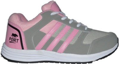 Port Womens Victory Pink Running Shoes(Pink)