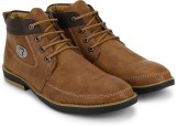 Jayn Martin Stitched Boots (Brown)