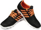 Ziesha Training & Gym Shoes (Black, Oran...