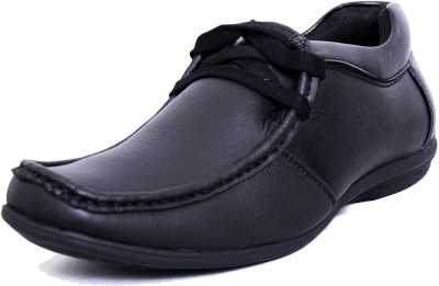 Black Tiger Men's Synthetic Leather Formal Shoes 4003-Black-6 Casuals