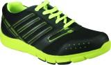 Azazo Running Shoes (Black, Green)