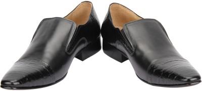 Shoe Bazar Black Slip On