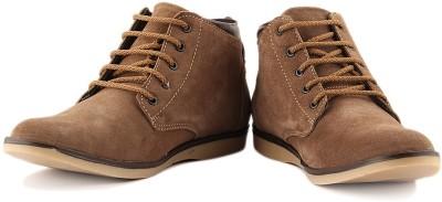 Anupamaa High Toe Brown Boots