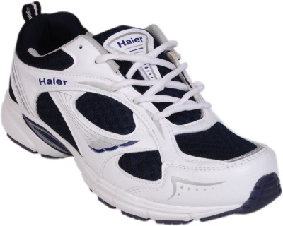 Haier Sports Feather White and Blue Running Shoes
