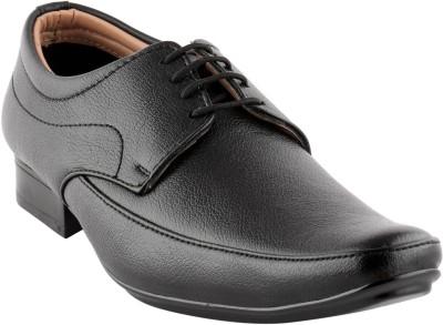 Smart wood 2402 BLK Lace Up Shoes
