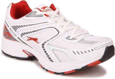 Slazenger Moscow White/Red Running Shoes