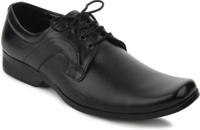 Blue Hut Blue Hut Party Wear Black Formal Shoes Lace Up Shoes