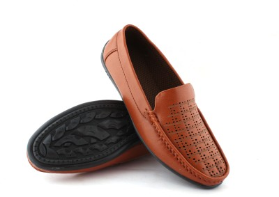 GREENFOOT Leather Look Loafers