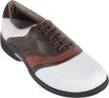 Vijayanti G001 White Beige Golf Shoes (B...