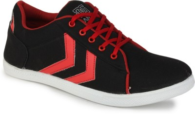 FX Style Black & White Footwear Canvas Shoes
