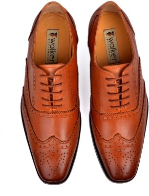 Walker Styleways Superior Oxford Brogue Lace Up Shoes