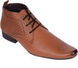Kalzado Lace Up Shoes (Tan)