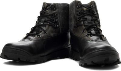 Woodland Men Boots(Black)