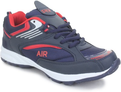 SRV Cobalt Navy/Red Sports Running Shoes