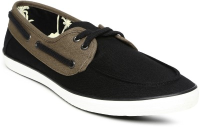 Mast & Harbour Casual Shoes(Black)