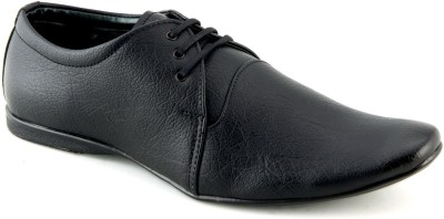 Faces By Devils Phelan Black Lace Up Shoes