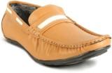 Calaso 202 Teek Loafers (Orange)