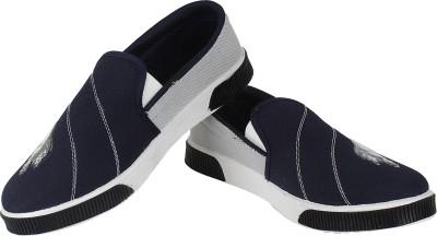 Vivaan Footwear Blue-131 Casual Shoes