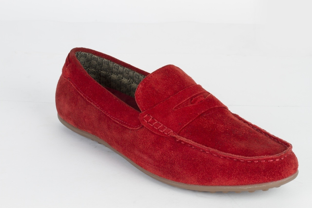 Dameriino Rosso Driving Shoes