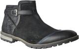Delize T-008-BLACK Boots (Black)