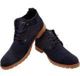 Blu Boot Attractive Boots (Blue)