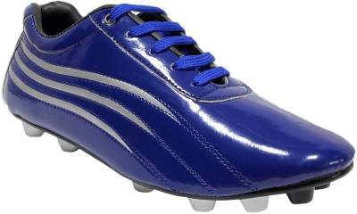 Snappy Blue Football Shoes