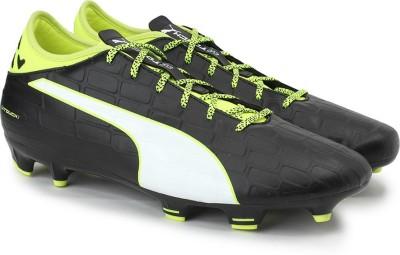 Puma evoTOUCH 3 FG Football Shoes(Black)