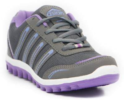 Asian Shoes Mango-03 Walking Shoes(Grey, Purple)