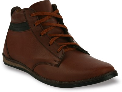 Shoe Island Tan Hiker Boots