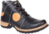 Haroads Ankle Length Boots (Black)