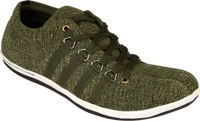 D61 2103 Olive Casual Shoes