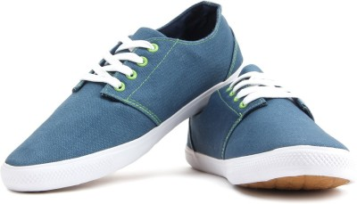 2123664580c Fila RETREAT Canvas Shoes Blue available at Flipkart for Rs.1149