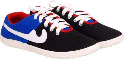 Jollify Comfort Black Canvas Shoes