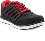 Ajanta Impact Running Shoes (Black, Red,...