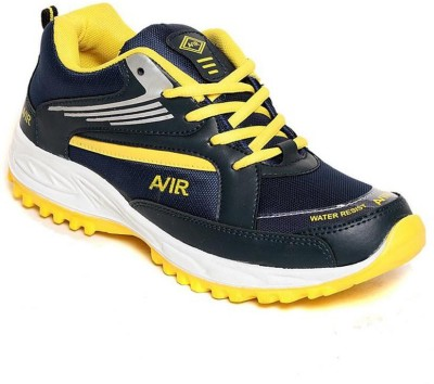 Shoe Island Sturdy Blue ,n, Yellow Sport Shoes Training & Gym Shoes