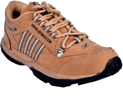 Shoebook Beige Casual Sporty Riding Shoes