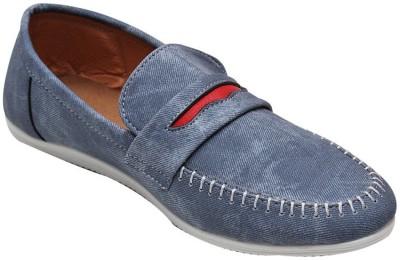 Parbat Fadail-Denim-blu Loafers