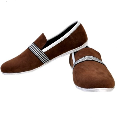 Stylords Metallic Brown Casuals