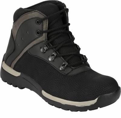 Udenchi UD610BLACK Steel Toe Safety Boots