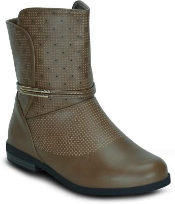 Get Glamr HELENA Boots(Beige)