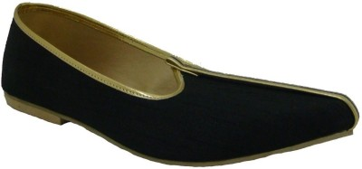 Senso Vegetarian Shoes Mens Black Mojaris