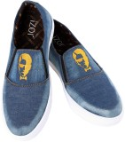 iZor Canvas Shoes (Blue)