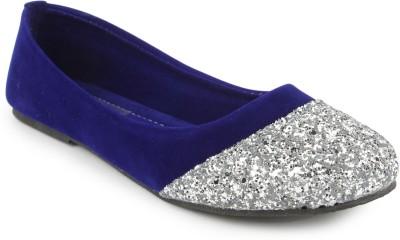 Cute Feet Cute Feet Blue Velvet with sparkle Belly Bellies