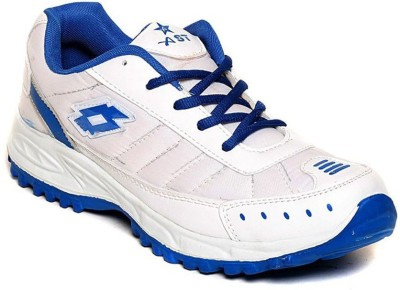 Shoe Island Sturdy White ,n, Blue Sport Shoes Training & Gym Shoes