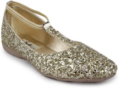 Sindhi Footwear Bellies(Gold)