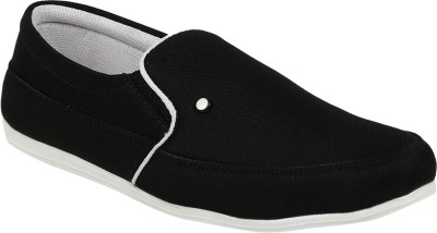 Vonc Black White Casual Shoes