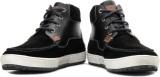 GAS Speed Men High Ankle Sneakers (Black...